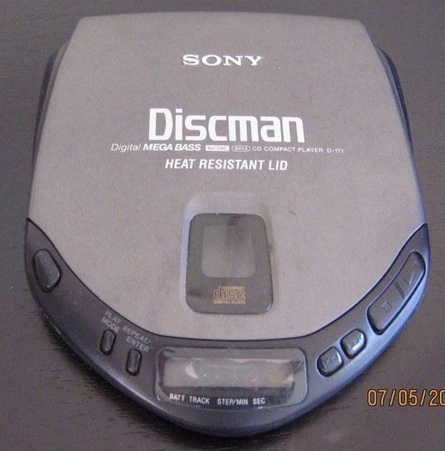 FLASHBACK AL 2000 discman