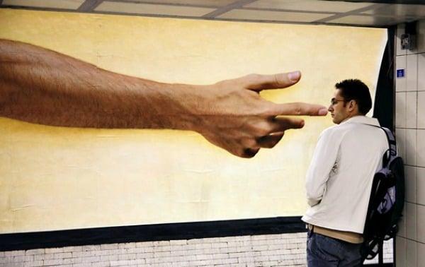 parece que la mano de dios te quito un moco