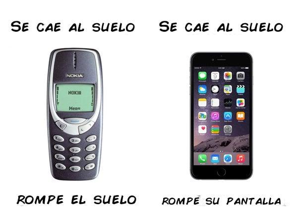 diferencia entre un nokia y un celular android