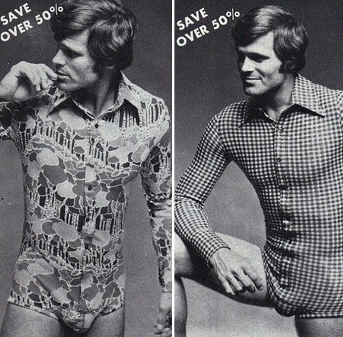 hombre de los 70 en anuncios