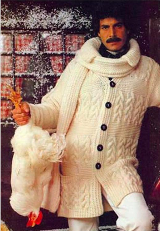 hombres 70 con lana