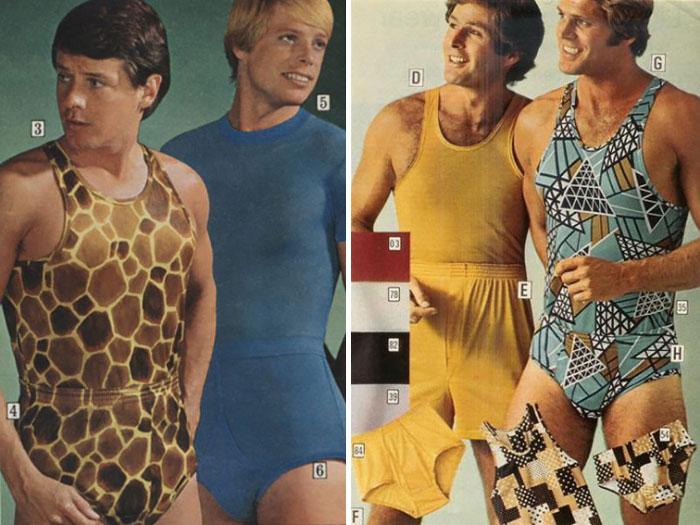 hombres de los 70 con jumper