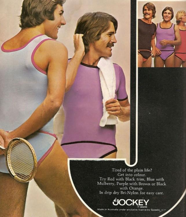 ropa deportiva hombres de los 70