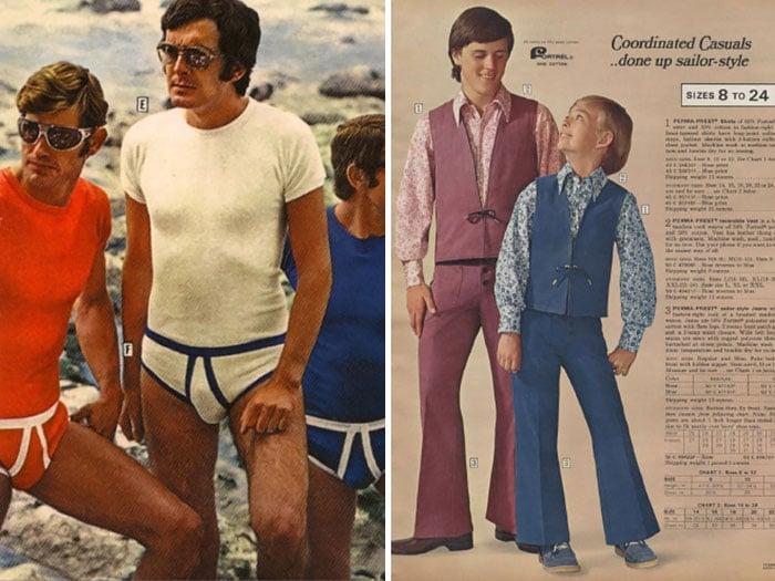 trajes de baño 70 hombres