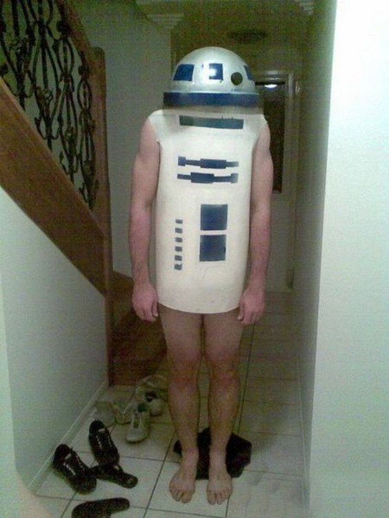 star wars fail cosplays zapatos piso