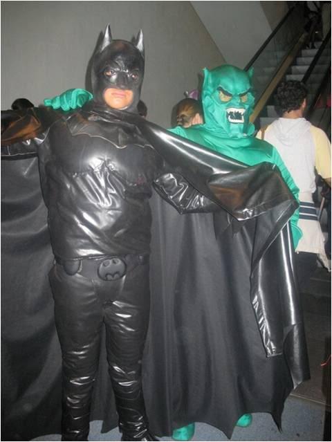 disfraces de duende verde y batman juntos