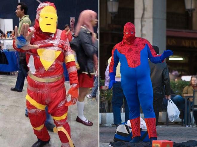 iron fail spiderman fail