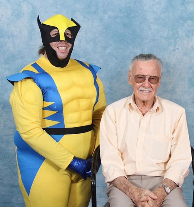 wolverine con su abuelo