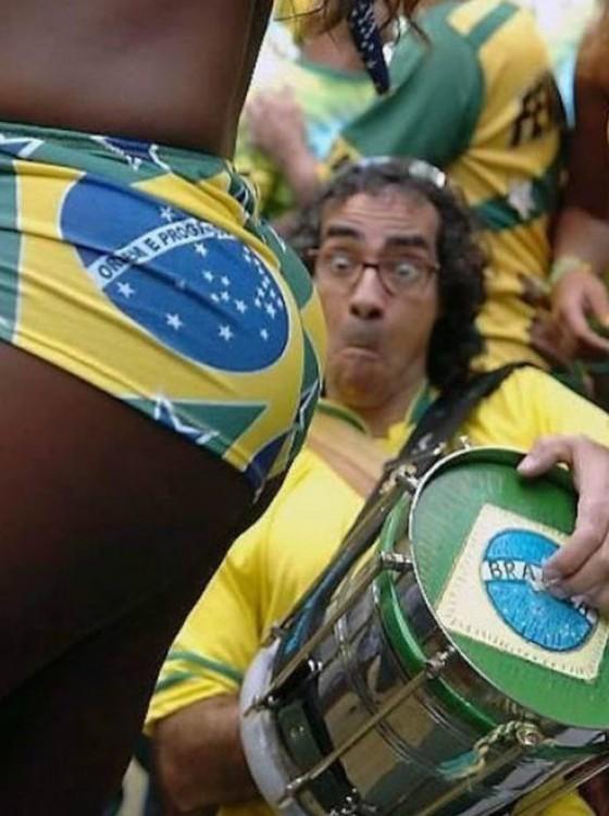 menuda sorpresa del fanatico de brasil
