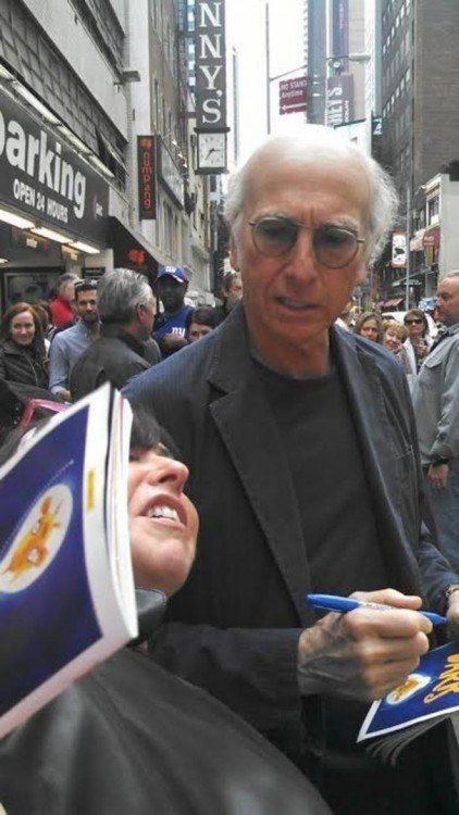 fan de larry david knokeada