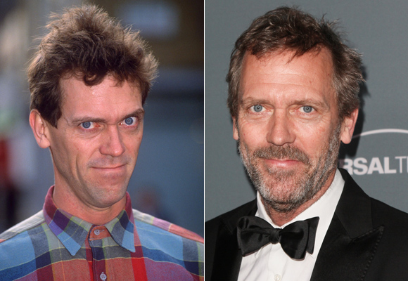 Hugh Laurie con barba