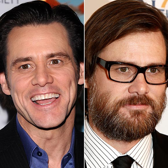 Jim carrey con barba