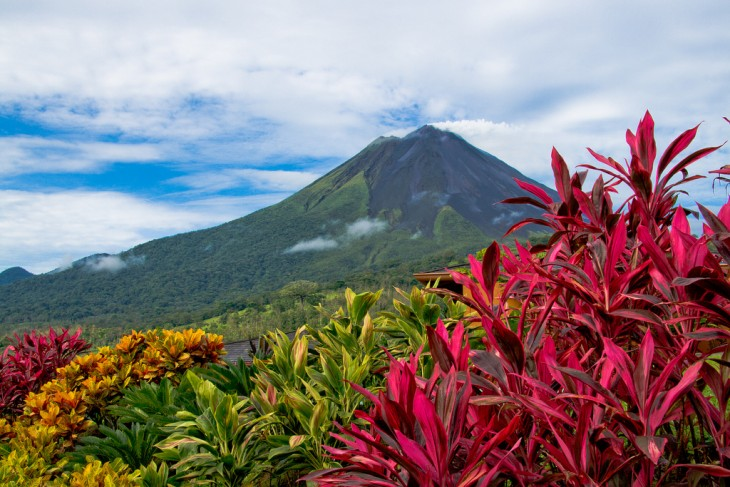 Arenal Volcano en Costa Rica