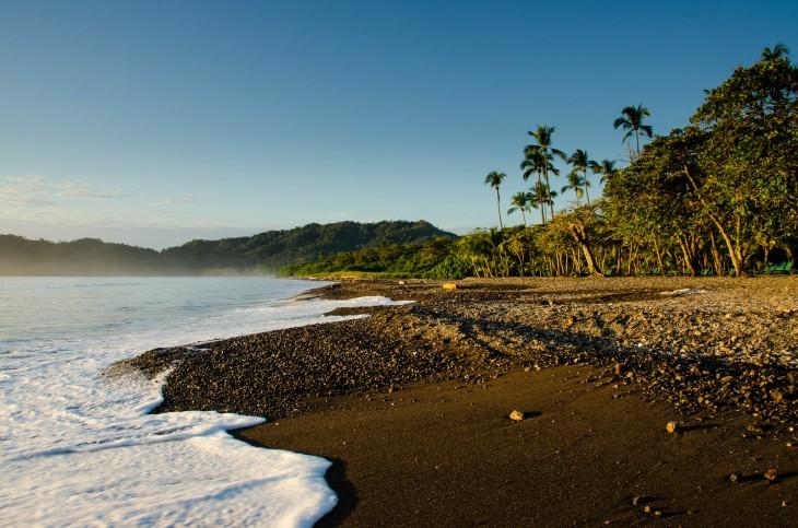 Atardecer en la Playa Tambor, Costa Rica