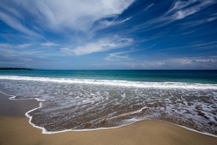 La playa del Caribe, Costa Rica