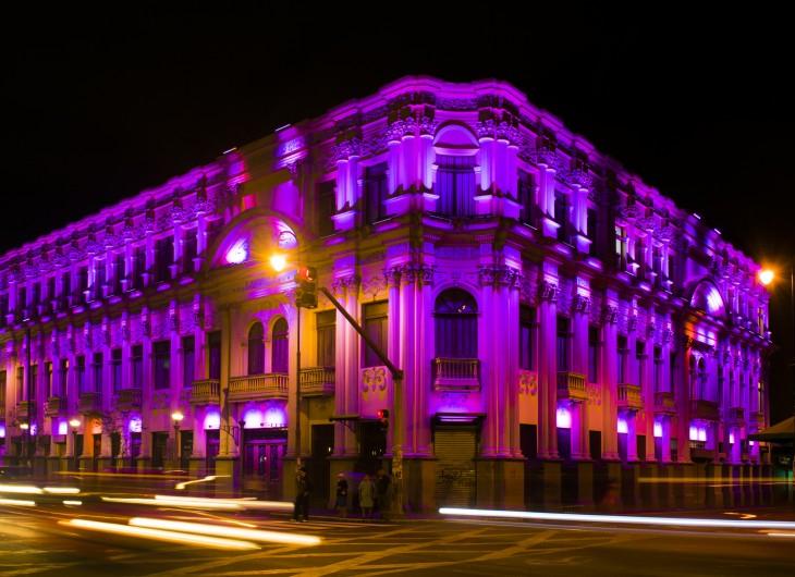 Teatro Popular Melico Salazar en San José. Costa Rica