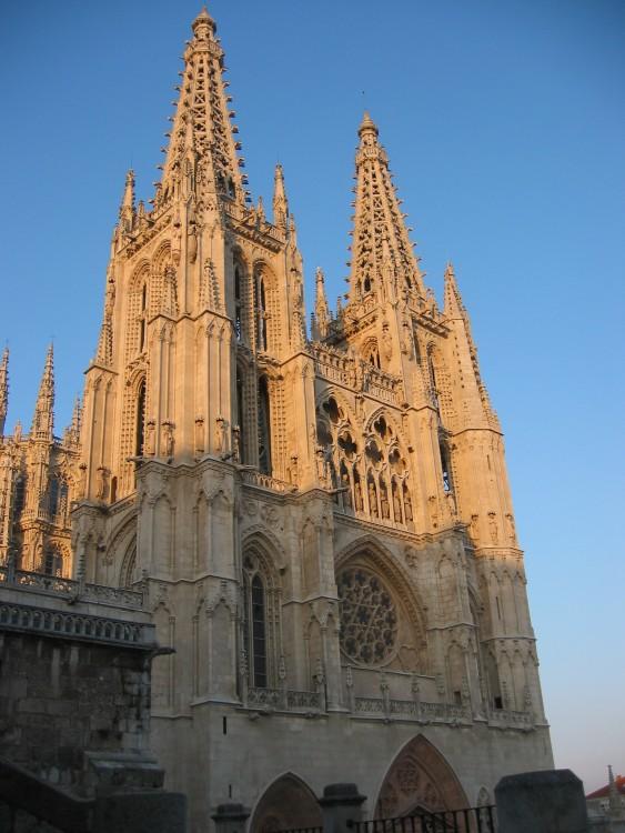 Catedral de Santa María de Burgos en la ciudad de Burgos, España