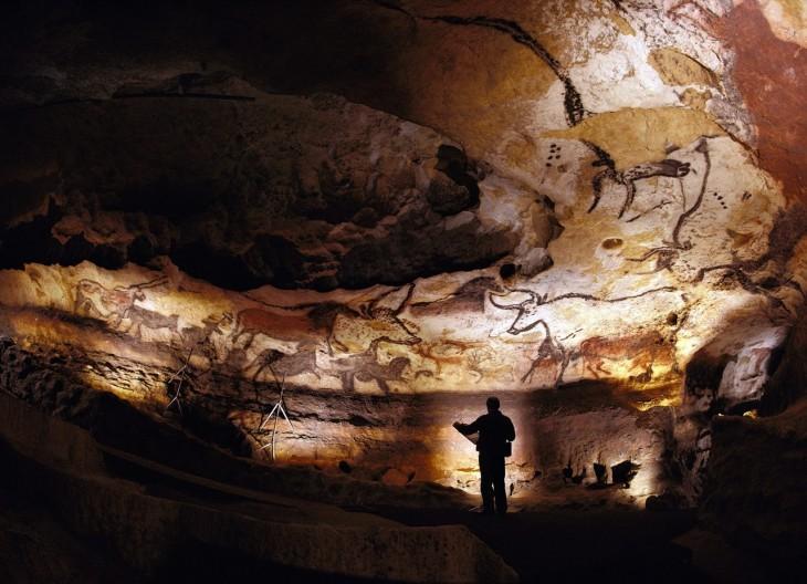 Cueva de Altamira en Satillana del Mar, Cantabria, España