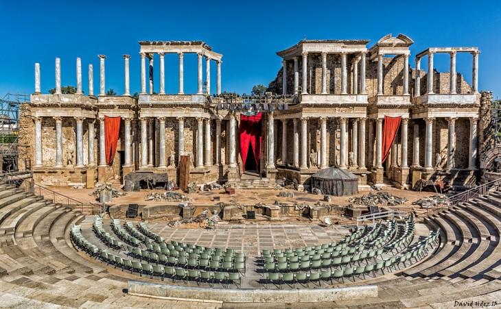 Teatro romano de Mérida, España