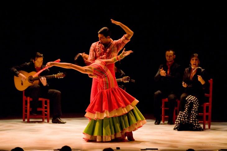 El flamenco, un estilo de música y danza típico en España