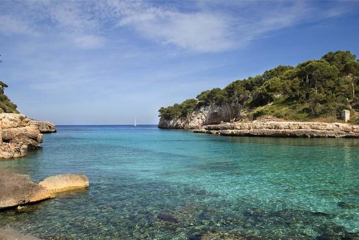 Isla de Mallorca en la Palma de Mallorca, España