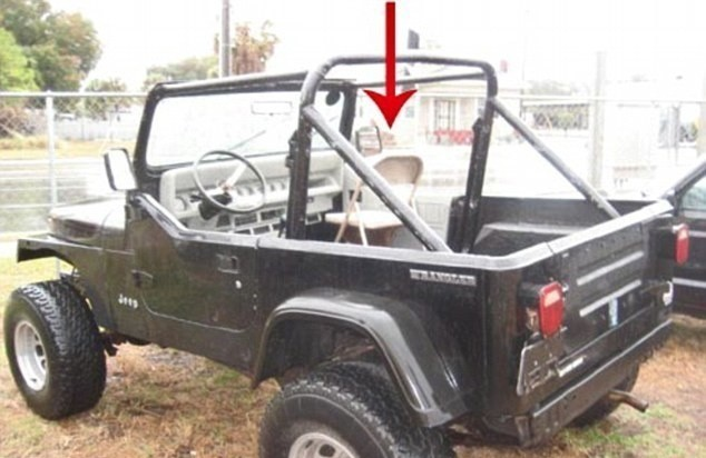 jeep con silla desmontable