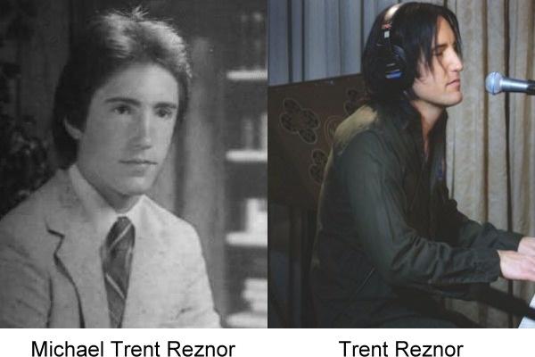 Foto de anuario de Trent Reznor