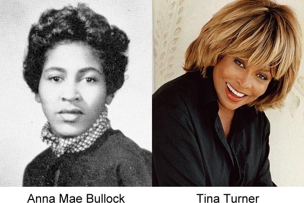 Tina Turner antes y después