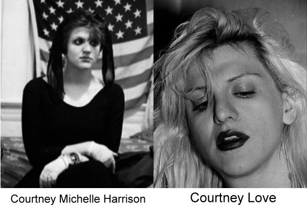 el antes y después de Courtney Love