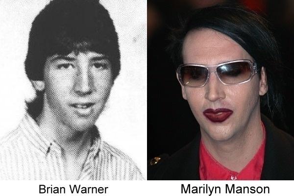 fotografía de Marilyn Manson antes de ser una celebridad