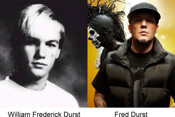 Fred Durst en su fotografía del antes y después