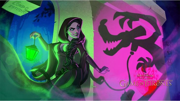 Melisandre al estilo Disney