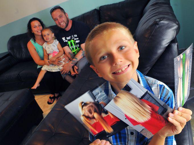 Bullean a niño por dejarse el cabello largo historias cancer nobleza