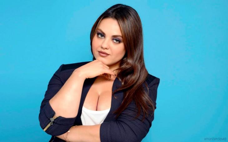 Mila Kunis con sobrepeso  a cargo del photoshop de David Lopera