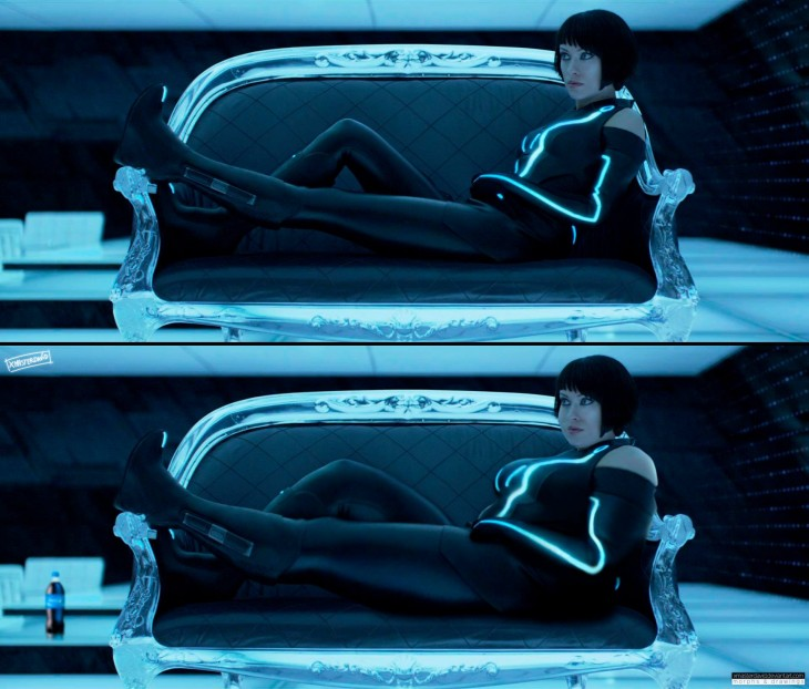 "Olivia Wilde ""The Tron"" con sobrepeso por David Lopera"