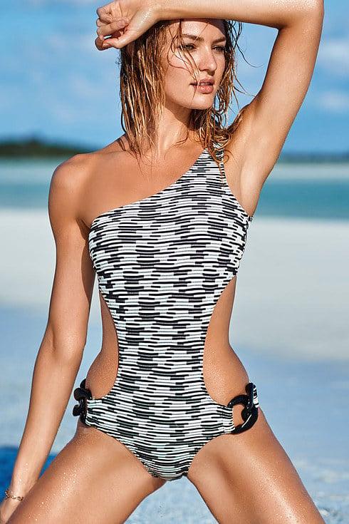 Estás Chicas Modelaron Trajes De Baño Victoria Secret
