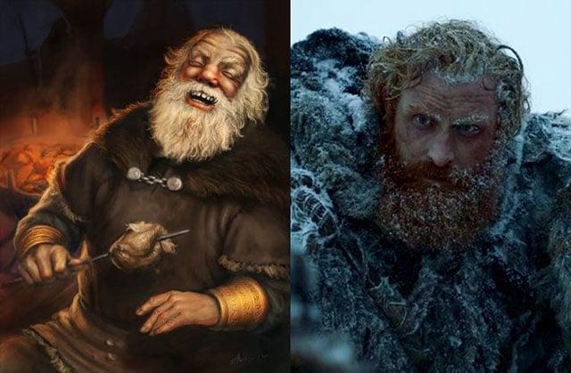 Tormund Giantsbane personaje del libro y la serie de Game Of Thrones