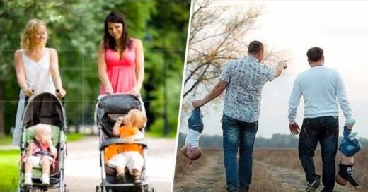 Grandes diferencias de como cuidan las mamas en comparación de los papas