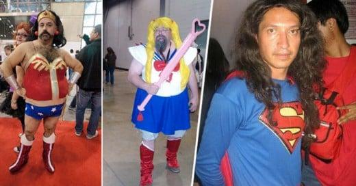 Épicos Fail de estos cosplayer que no tienen alguien que les avise lo mal que se ven