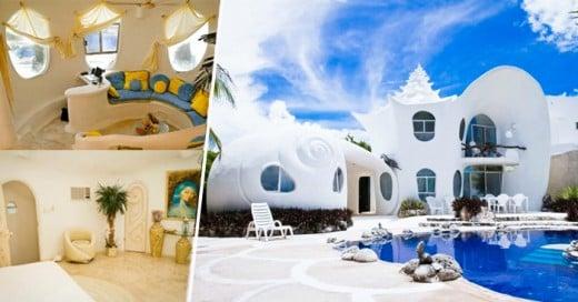La casa caracol de la isla mujeres