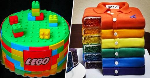 Son Los mejores diseños que se encuentran el pasteles, una lastima que sean devorados