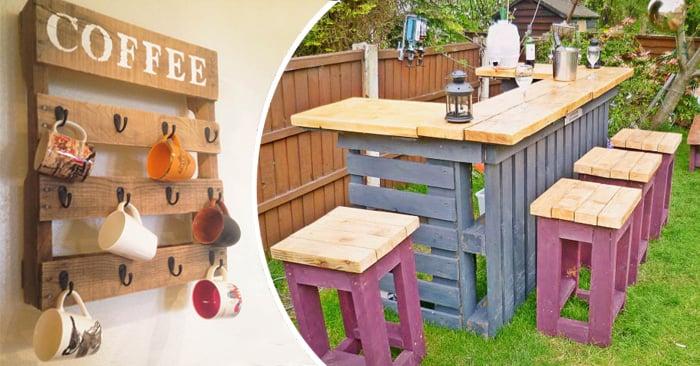 30 ideas para reciclar tarimas para tu hogar for Muebles de jardin hechos con tarimas