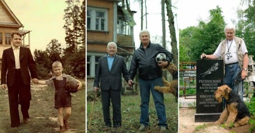 Como las fotografias pueden llevarnos a un viaje de toda una vida entre padre e hijo