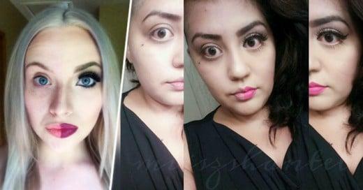 El gran cambio que se nota es algo increíble en estos maquillajes