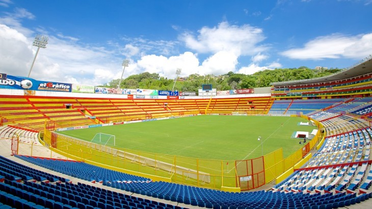 Estadio en El Salvador