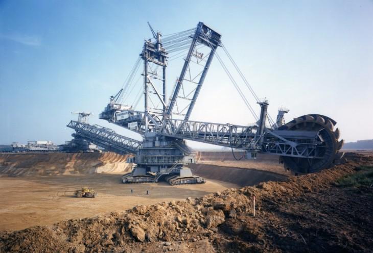 Excavadora más grande del mundo