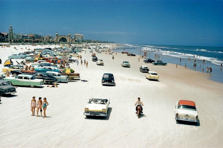 Foto de la playa Daytona, Florida en 1957