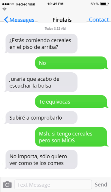Mensajes de texto que te escribiría tu perro si supiera escribir