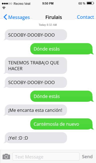 Graciosos Mensajes Perro Conversaciones Whatsapp Imagenes Perritos