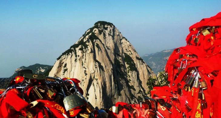 Huashan uno de los montes más peligrosos en China